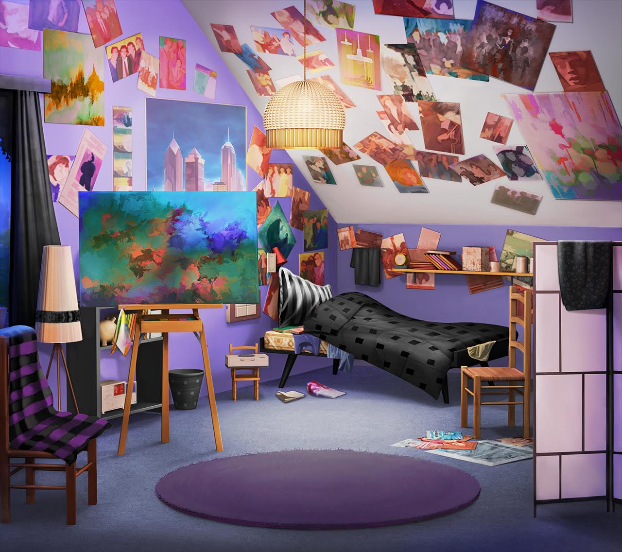 Episodeinteractive Dcon Pv1 Back INT JANIS DORM ROOM NIGHT