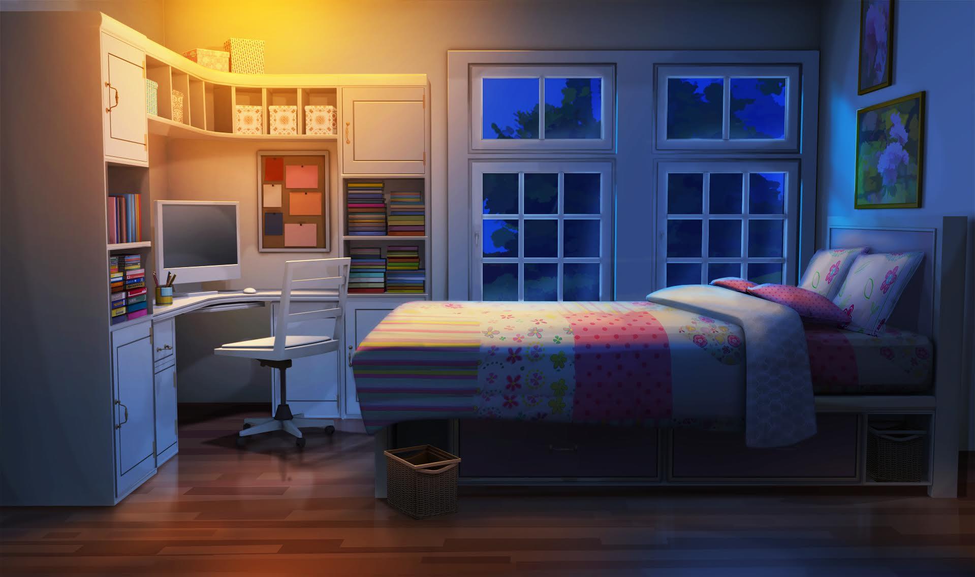 Image Result For Manga Bedroom Wallpapera